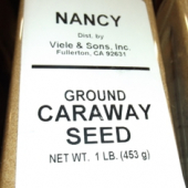 Nancy Brand - Caraway Seed, Whole, 1 Lb