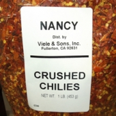 Nancy Brand - Chiles, Whole Crushed, 1 Lb