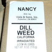 Nancy Brand - Dill Weed, Cut, 6 oz