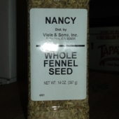 Nancy Brand - Fennel Seed, Whole, 14 oz