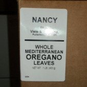 Nancy Brand - Oregano Leaves, Whole Greek/Mediterranean, 1 Lb