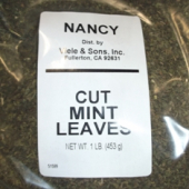Nancy Brand - Mint Leaves, Cut, 1 Lb