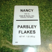 Nancy Brand - Parsley Flakes, Whole, 1 Lb