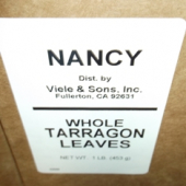 Nancy Brand - Tarragon Leaves, Whole, 1 Lb