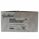 Guittard Chocolate - Cocoa Rouge Powder, Unsweetened Red High Fat Dutched, 20 Lb