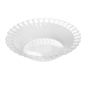 Fineline Settings - Flairware Bowl, 10 oz Clear Plastic