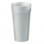 "Dart - Foam Cup, White, 24 oz, 6.9"" Height"