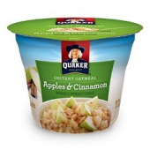 Quaker - Oatmeal Express Apples & Cinnamon Cup