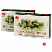 Toothpicks, Round
