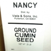 Nancy Brand - Cumin Seed, Ground, 25 LB