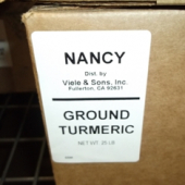 Nancy Brand - Turmeric, Ground, 25 Lb