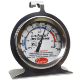 "Thermometer, Refrigerator/Freezer, 2"" dial -20-80 degrees F"
