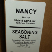Antonio Brand - Seasoned Salt, 25 Lb