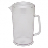 Cambro - CamView Pitcher, 64 oz Clear Plastic with Lid