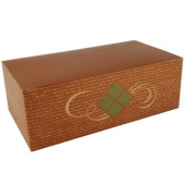 Southern Champion Tray - Lunch Barn Style Carry Out Box, 9x5x3 Clay Coated Kraft Paperboard Hearthst