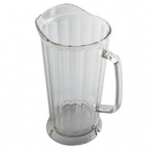 Cambro - Pitcher, 64 oz Tapered Clear Plastic