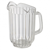 Winco - Pitcher, 60 oz Clear PC Plastic with Three Spouts