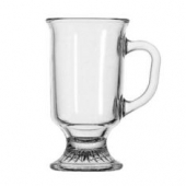 Anchor Hocking - Irish Glass Coffee Mug, 8 oz