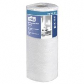 "Tork Perforated Roll Towel Handi-Size, 2-Ply White, 11"" Width, 67.5' Length"