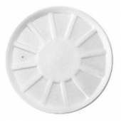 Dart - Lid, Vented, White Foam, Fits Cup/Container