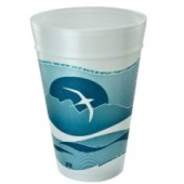 Dart - Foam Cup, Horizon Stock Print, 32 oz