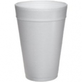 "Dart - Foam Cup, White, 32 oz, 6.6"" Height"