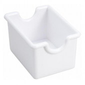 Winco - Sugar Packet Holder/Caddy, White Plastic