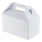 Barn Box, 9.5x5x5 Medium White