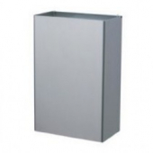 Bobrick - Waste Receptacle, Interchangeable 12 Gallon Stainless Steel