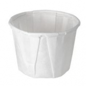 Solo - Cup, .5 oz White Paper Souffle Portion Cup