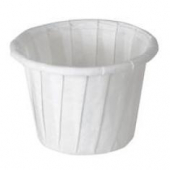 Solo - Cup, .75 oz White Paper Souffle Portion Cup