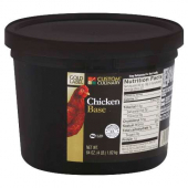Custom Culinary - Chicken Base Paste with No MSG, Gold Label, 3/4 Lb