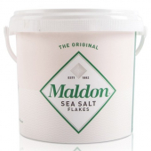 Maldon - Sea Salt Flakes, 3.3 Lb Bucket