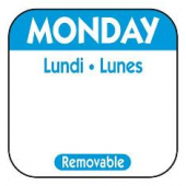 Label, Monday, 1x1 Square