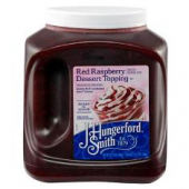 JHS - Red Raspberry Dessert Topping