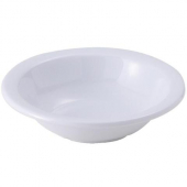 Winco - Grapefruit Bowl, 10 oz Melamine White