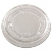 Dart - Lid, 3.25-4 oz Clear Plastic Conex Portion Cup Lid