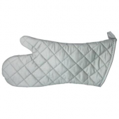 "Winco - Oven Mitt, 15"" Silicone Coated, Temp Range from 0-200 degrees F"