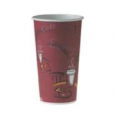 "Solo - Cup, 20 oz ""Bistro"" Single Sided Poly Paper Hot Cup"