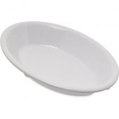 Carlisle - Dallas Ware Fruit Bowl, 6.5 oz Oval White Melamine