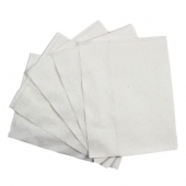 Napkin, 1-Ply White Off Fold, 12x13