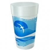 Dart - Foam Cup, Horizon Stock Print, 44 oz