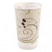 "Solo - Cup, 44 oz ""Symphony"" Paper Cold Water/Refill Cup"