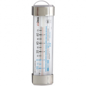 "Winco - Refrigerator/Freezer Thermometer, -20 to -80 degrees F, 3.5x1.125"" Dial with Suction Cup"