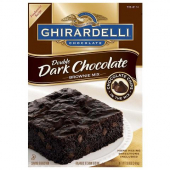 Ghirardelli - Double Dark Chocolate Brownie Mix
