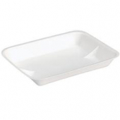 Pactiv - Meat Tray, White, 9.58x7.08x1.25