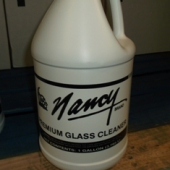 Nancy Brand - Glass Bright Glass Cleaner, 4/1