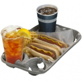Pactiv - 4-Cup Carry Out Tray, Holds 8-24 oz Cups, 13.75x8.5 Molded Fiber