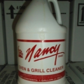 Nancy Brand - Oven and Grill Cleaner, 4/1