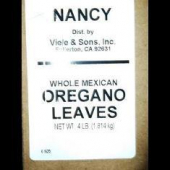 Nancy Brand - Oregano Leaves, Whole Mexican, 4 Lb